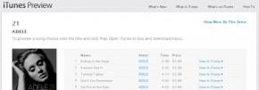 Adele se convierte en la primera artista en lograr un doble platino en iTunes