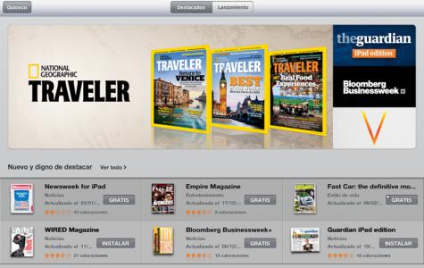 App Store de revistas y periódicos