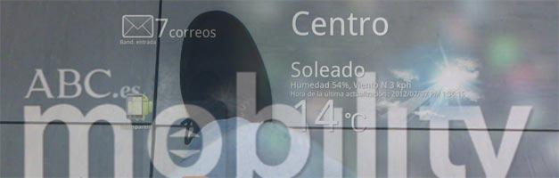 Transparent Screen, ideal para usar tu Android por la calle sin tropezar