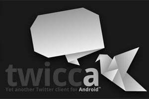 Twicca, un completo cliente de Twitter