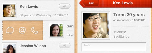 Yearly en tu iPhone: Para que nunca olvides cumpleaños y aniversarios