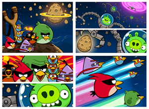 Intro de angry birds space voltagebd Images