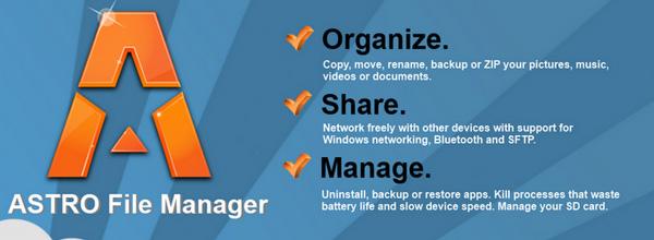 Pon los archivos de tu Android en orden con Astro File Manager