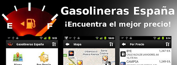 Gasolineras España, la aplicación para repostar de manera inteligente