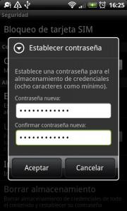 Asegura el acceso a tus contraseñas en Android, paso 4