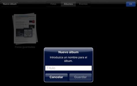 Nuevo album iOS