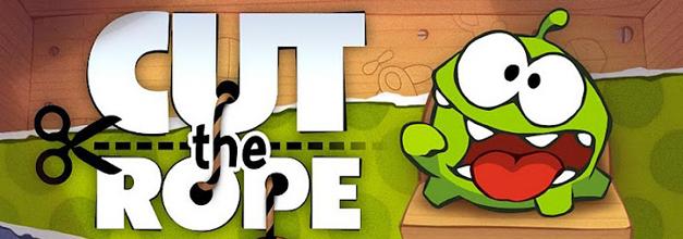 Cut the Rope, un original juego de lógica y habilidad