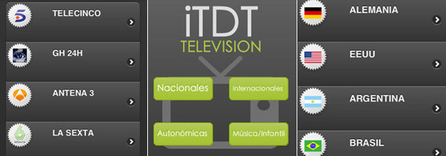 Tus programas favoritos en alta calidad con iTDT