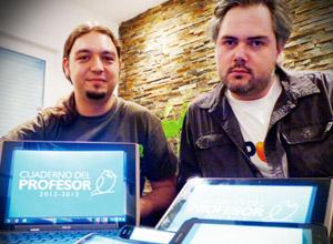 Federico Fernández y Francisco Anaya, de Labeldroid