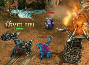Batalla en tiempo real en Heroes of Order & Chaos