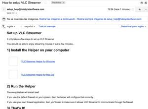 Cómo ver videos en streaming en iOS con VLC Streamer, paso 2