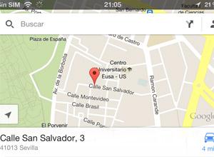 Consejos para sacar el máximo provecho a Google Maps en iOS, poner chincheta