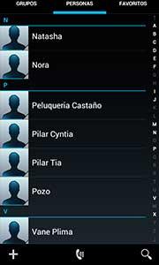 exportar e importar los contactos de la tarjeta SIM con Android