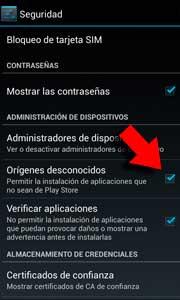 Instalar aplicaciones sin utilizar Google Play