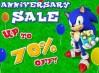 Sega rebaja todos los juegos de Sonic con motivo su 22º aniversario