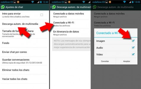 Configura tu privacidad en WhatsApp