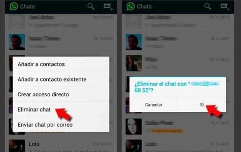 Limpia los registros de WhatsApp para liberar la memoria de tu smartphone