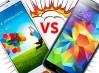 Comparativa entre el Samsung Galaxy S4 y el Galaxy S5