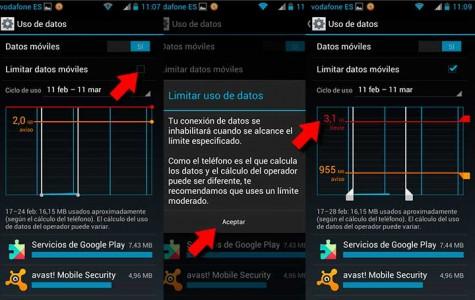 Controla y reduce el consumo de datos móviles en tu Android