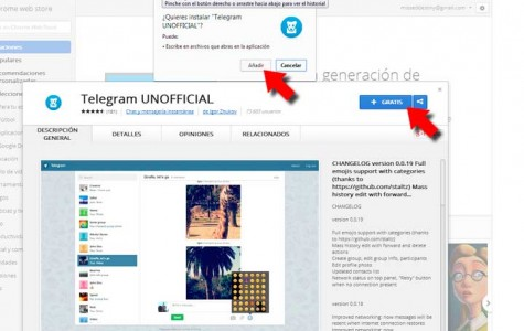Instala Telegram en tu PC