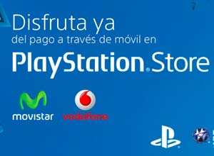 Sony permite el pago de PlayStation Network a través del móvil con Movistar y Vodafone