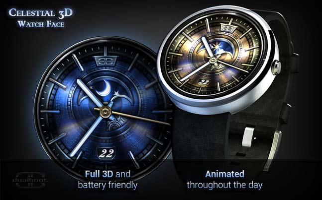 Celestial 3d un nuevo dise o de esfera para tu android for Fondo de pantalla que cambia segun la hora del dia