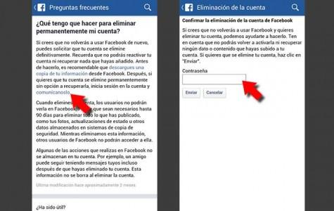 Como eliminar para siempre tu cuenta y datos de Facebook