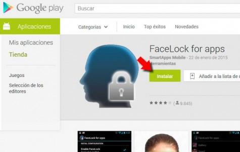 Desbloquea tu smartphone o aplicaciones mediante reconocimiento facial