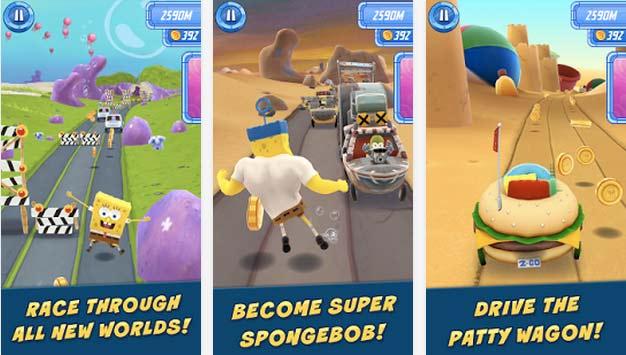 Nickelodeon lanza el juego oficial de la pelcula de Bob Esponja