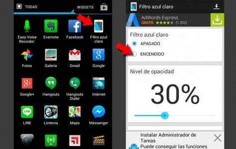 Personaliza tu Nexus 6 con un filtro para proteger tus ojos