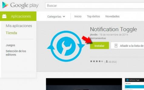 Samsung Galaxy S6 con accesos directos a tus apps en la barra de notificaciones