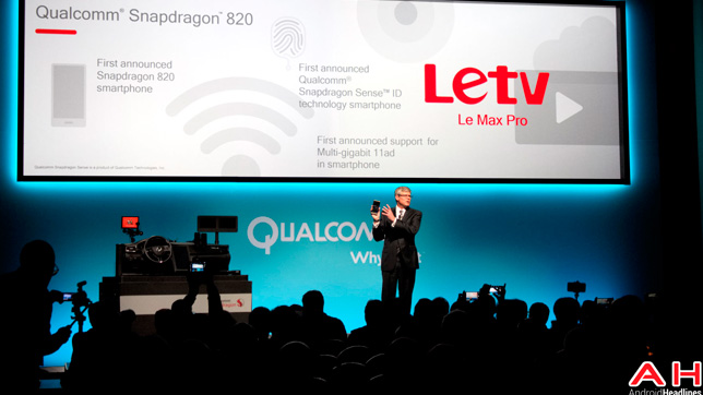 2016 Presented LeTv Le Max Pro at CES
