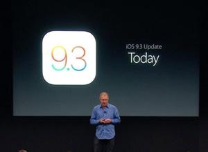 iOS 9.3 ya disponible, con Night Shift y mejoras en Notas, Salud y Apple Music