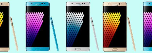 Se filtran las imágenes de prensa del Samsung Galaxy Note 7