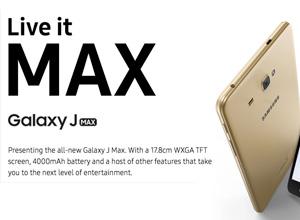 Galaxy J Max, el teléfono de Samsung de 7 pulgadas