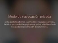 Cómo utilizar el modo de navegación privada de iOS