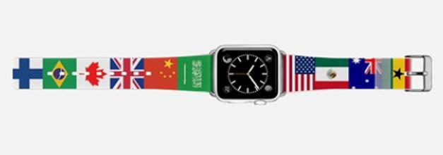 Casetify lanza correas para el Apple Watch con motivo de los Juegos Olímpicos
