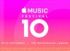Anunciado el cartel y fechas del Apple Music Festival 10