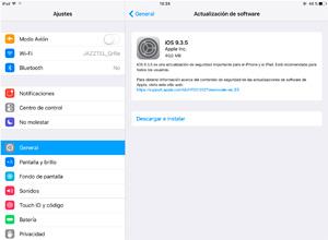 Apple lanza iOS 9.3.5 para corregir un fallo de seguridad importante