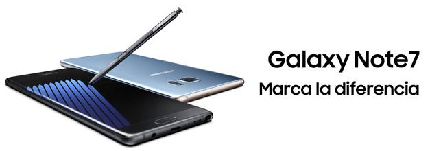 El nuevo Galaxy Note 7 empezará a venderse en Europa el próximo 28 de octubre