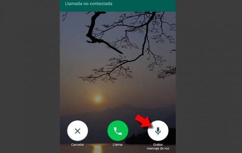 Cómo usar el buzón de voz de WhatsApp