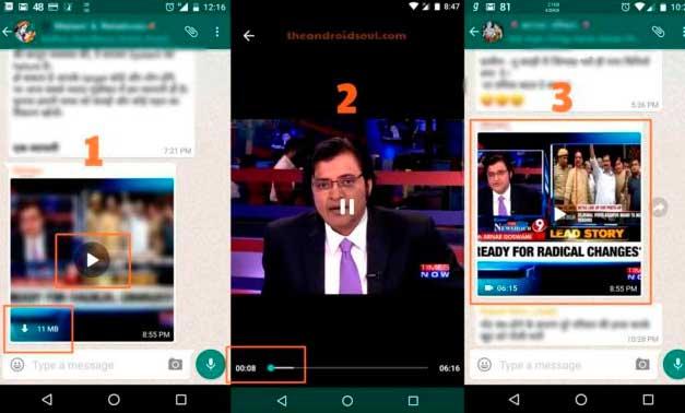 WhatsApp permitirá ver vídeos mediante streaming