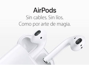 Error en algunos AirPods que se desconectan durante las llamadas usando los iPhone 6S/ 6S Plus
