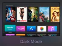 Cómo poner el interfaz del Apple TV de cuarta generación en tono oscuro