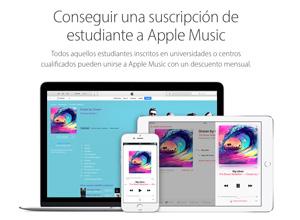 Apple Music ya ofrece tarifa especial para estudiantes: 4,99 euros