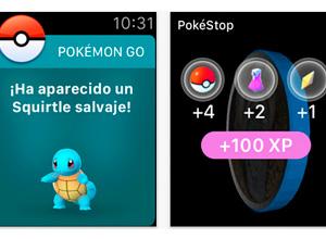 Pokemon Go ya está disponible para el Apple Watch