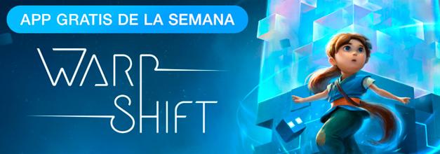 Warp Shift, aplicación de la semana para iPhone y iPad