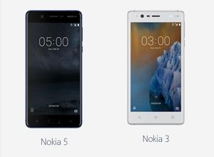 Los Nokia 6, Nokia 5 y Nokia 3 estará disponibles desde finales de este mes de junio