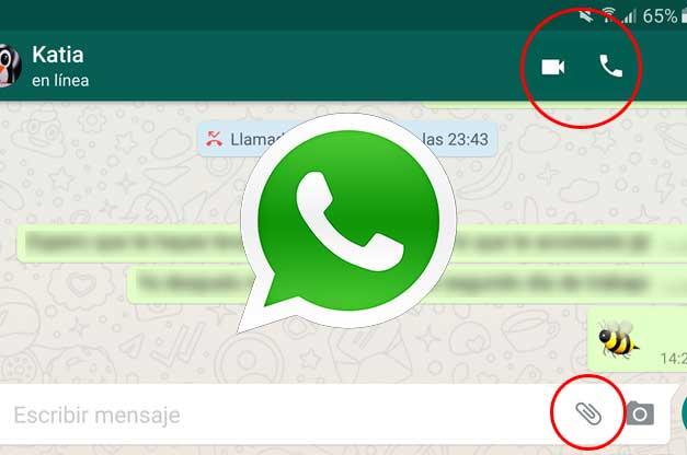 WhatsApp reorganiza sus iconos