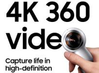 Samsung renueva su cámara Gear 360, ahora con grabación 4K